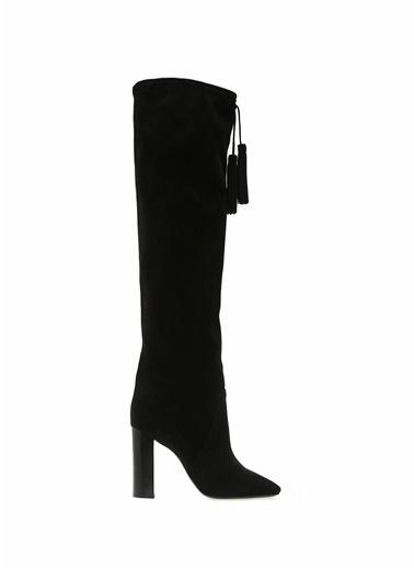 Saint Laurent Çizme Siyah